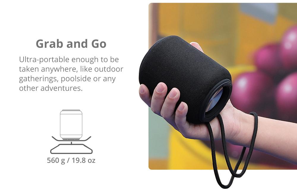 Tronsmart Element T6 Mini Bluetooth 5.0 Reproduktor 30 m Pripojenie Siri Google Assistant IPX6 24h Playtime USB-C
