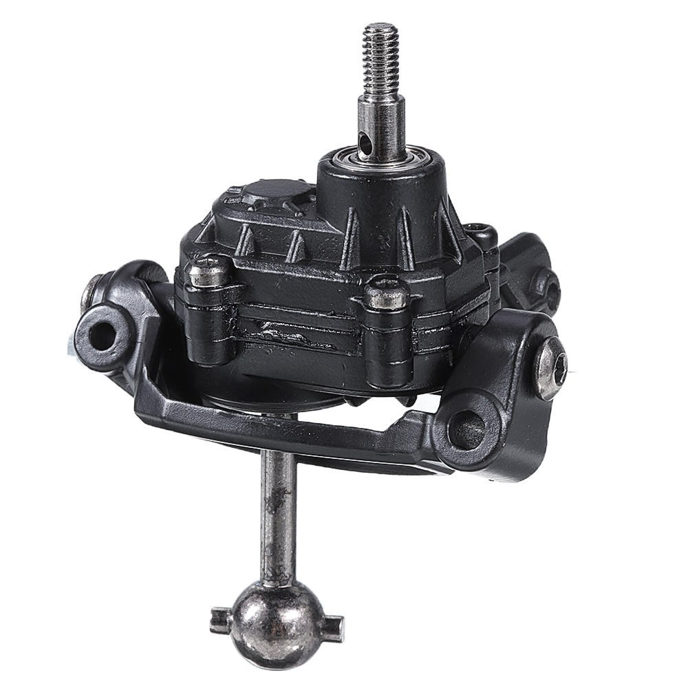 HG P408 1/10 U.S.4X4 Military Vehicle Truck RC Car Spare Parts Metal Front Wheel Gearbox - Right