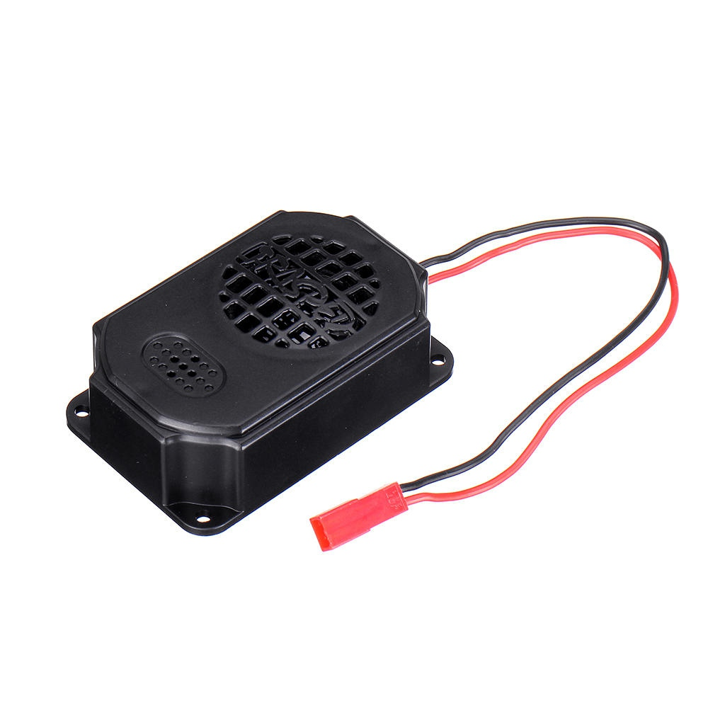 HG RC Car Spare Parts Generic RX Speaker For HG P408 P602 Military Truck RC Vehicles Model - Black