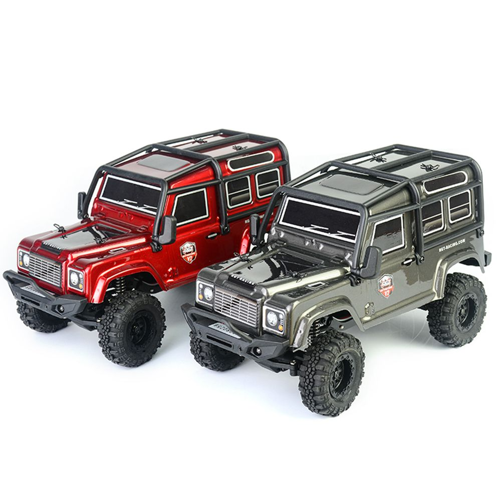 RGT 136240 V2 ADUENTURER 1/24 2.4G 4WD 15km/h MINI Off-road Rock Crawler Climbing Vehicle RC Car Model RTR - Red