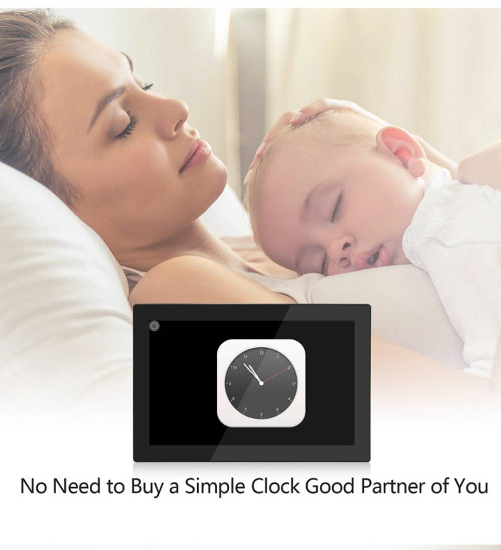 WF1010 10.1'' WiFi Cloud Digital Photo Frame 800x1280 IPS Touch Screen 1GB/16GB Facebook/Twitter/Email/APP Sharing Time and Weather Display - Black