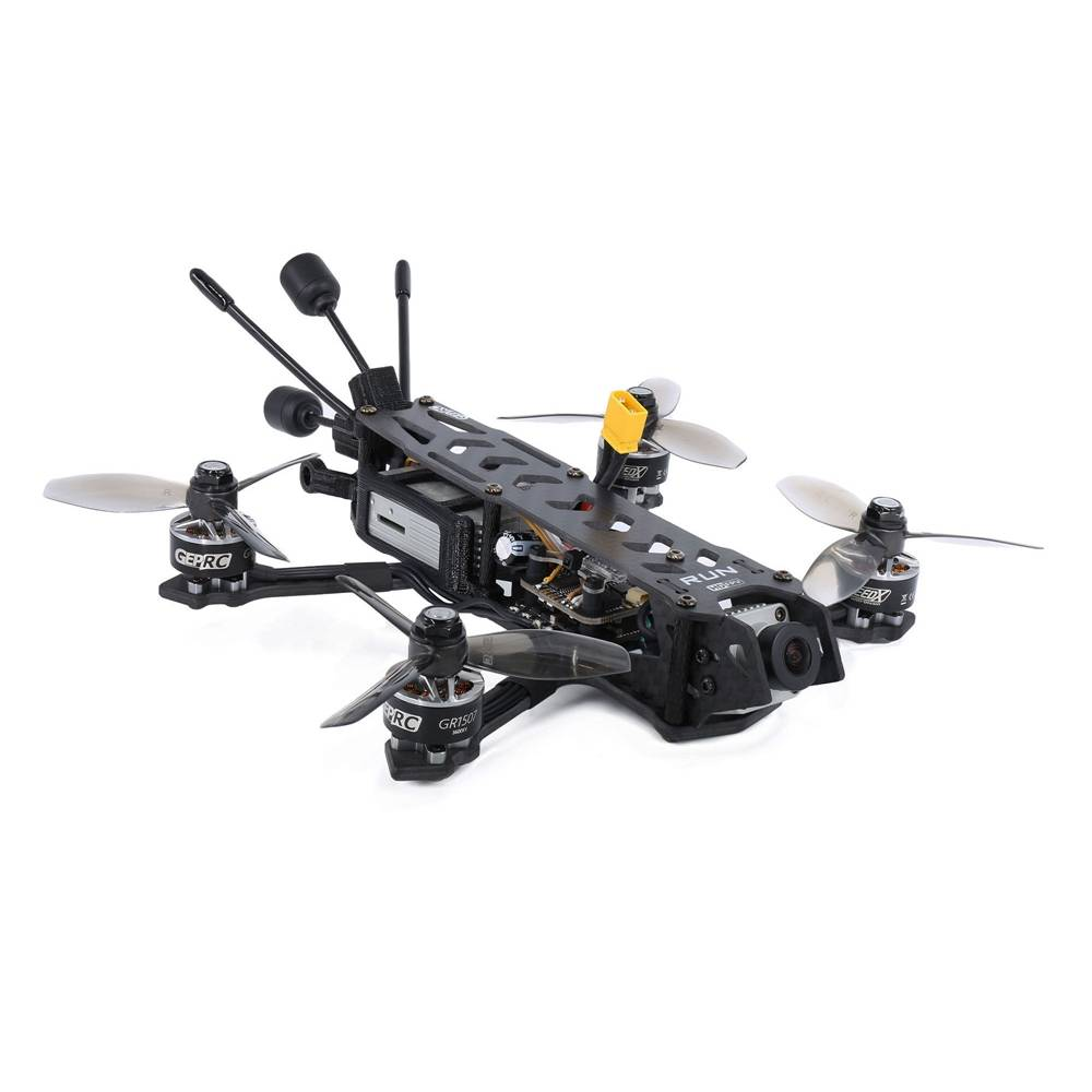 Geprc RUN HD 3 155mm 3 Inch FPV Racing Drone With STABLE PRO F7 35A BLHeli_32 ESC DJI FPV Air Unit - PNP