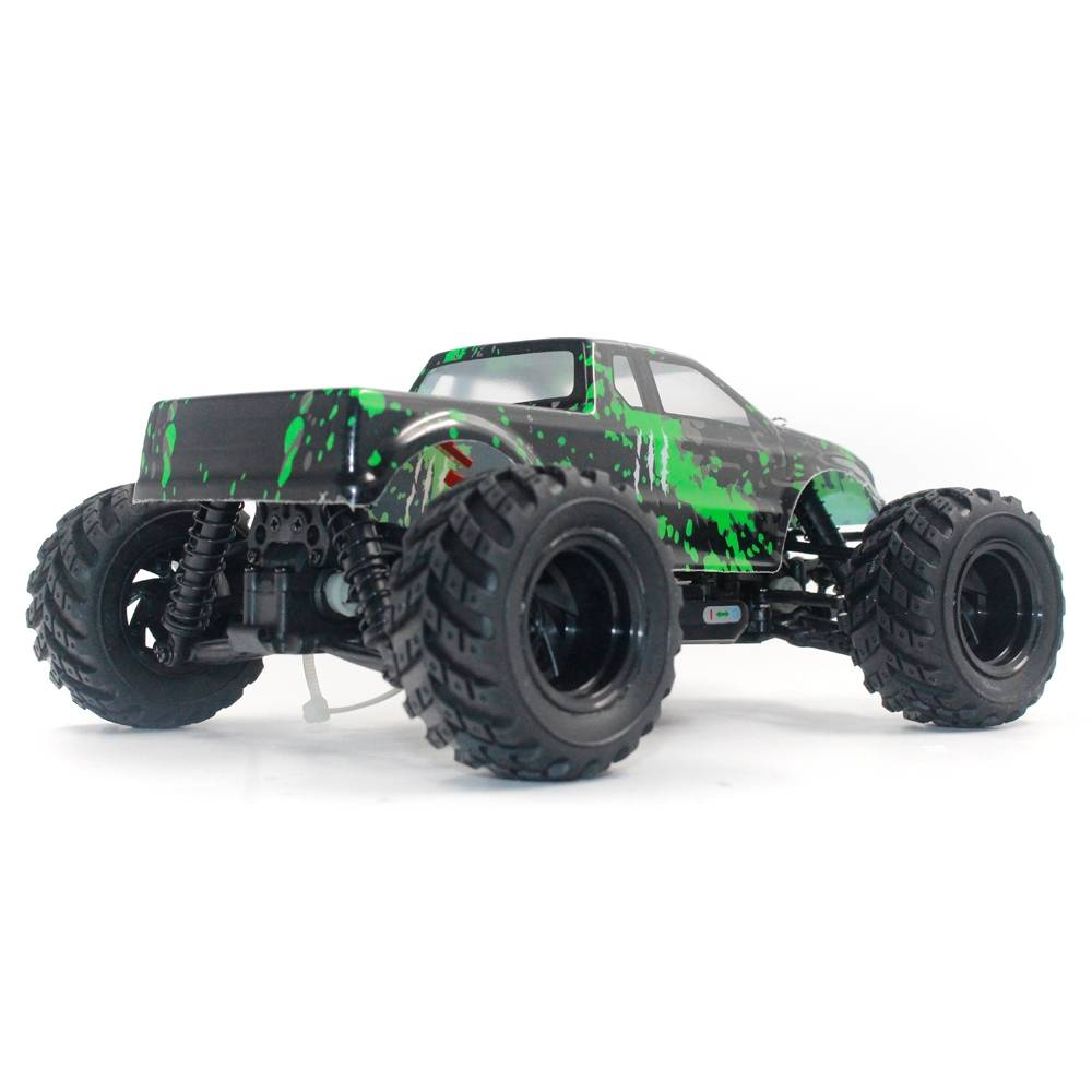 HAIBOXING 18859E RAMPAGE 1/18 2.4G 4WD Electric Off-road Monster Truck Vehicle RC Car RTR - Green
