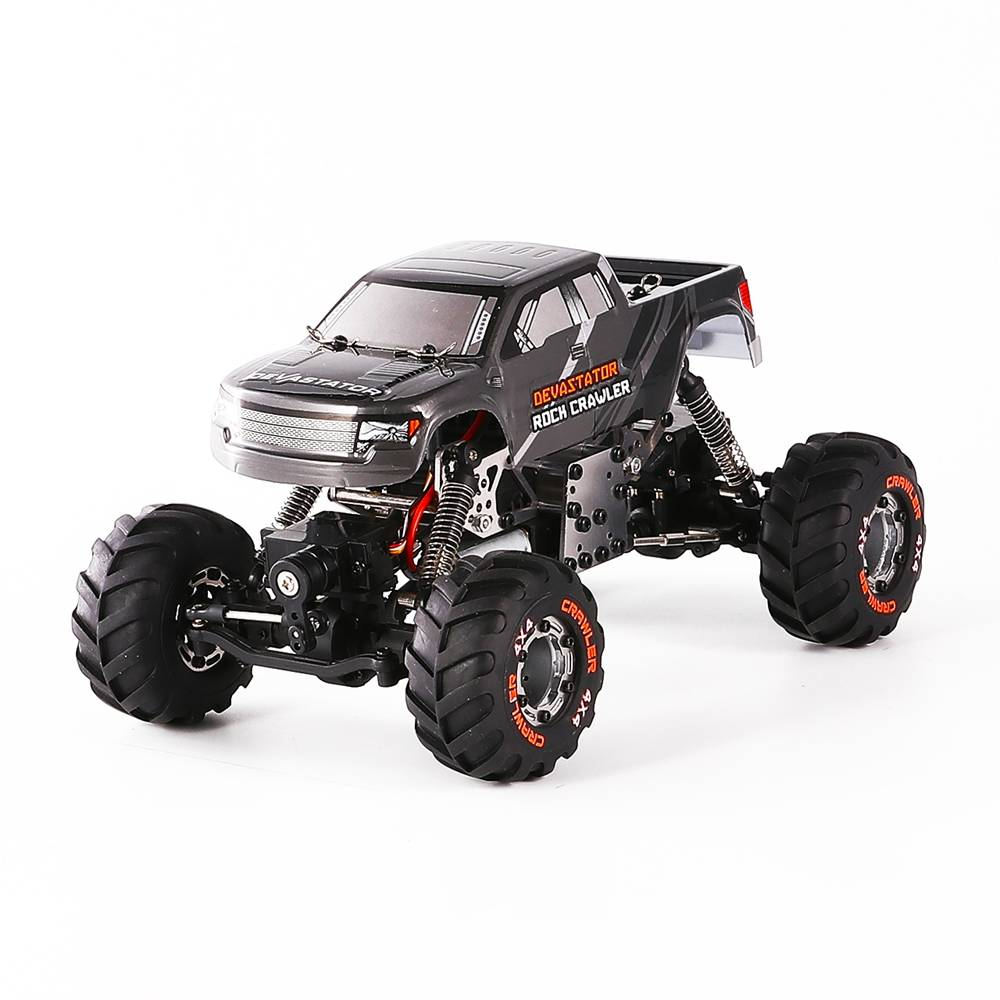 HAIBOXING 2098B DEVASTATOR 1/24 4WD MINI Electric Off-road Rock Crawler Climbing Vehicle RC Car RTR