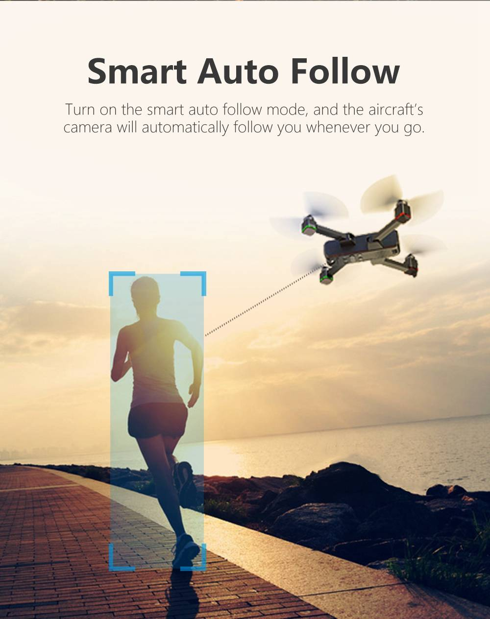 JJRC X11P SCOUTER+ 4K 5G WIFI GPS Foldable RC Drone With Ultrasonic Optical Flow Positioning RTF Silver - Two Batteries