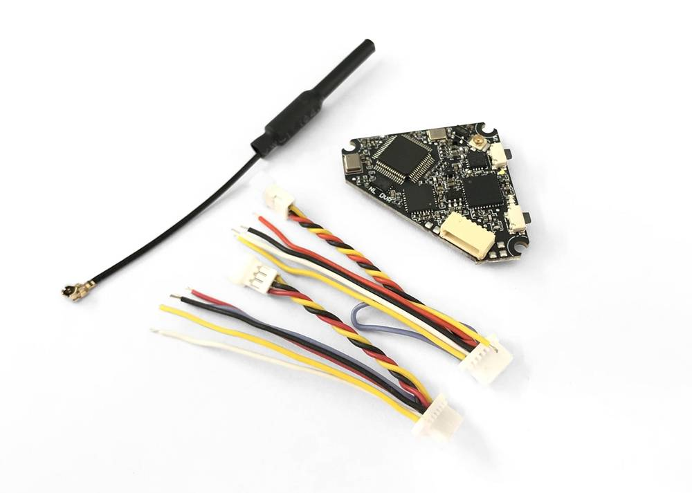 Nameless D400 5.8G 48CH 400mW Triangle FPV Transmitter VTX With DVR Support BFOSD IRC Tramp For Whoop Toothpick Drone