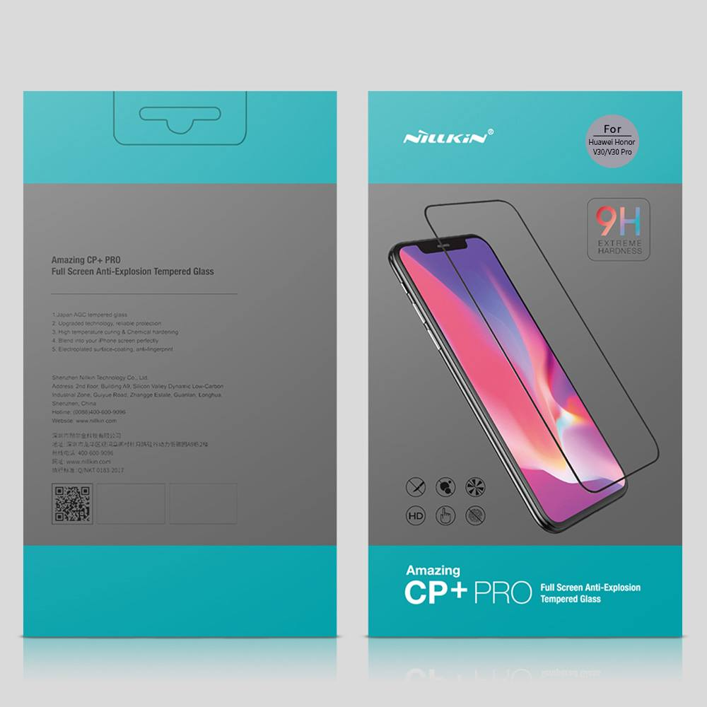 Nillkin Anti-explosion Tempered Glass CP+PRO  Screen Protector For Huawei Honor V30 / Honor V30 Pro - Transparent