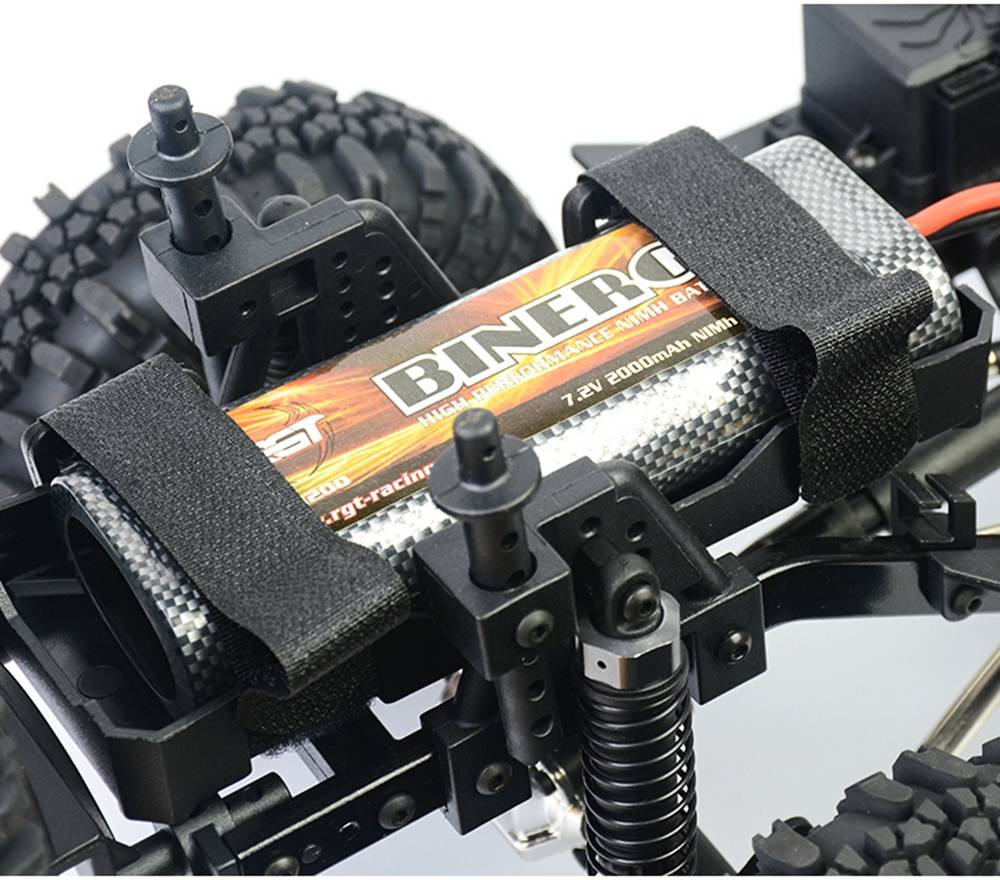 RGT EX86010-CJ 1/10 2.4G 4WD Split Transmission All-terrain Off-road Rock Crawler Climbing Vehicle RC Car RTR - Gray