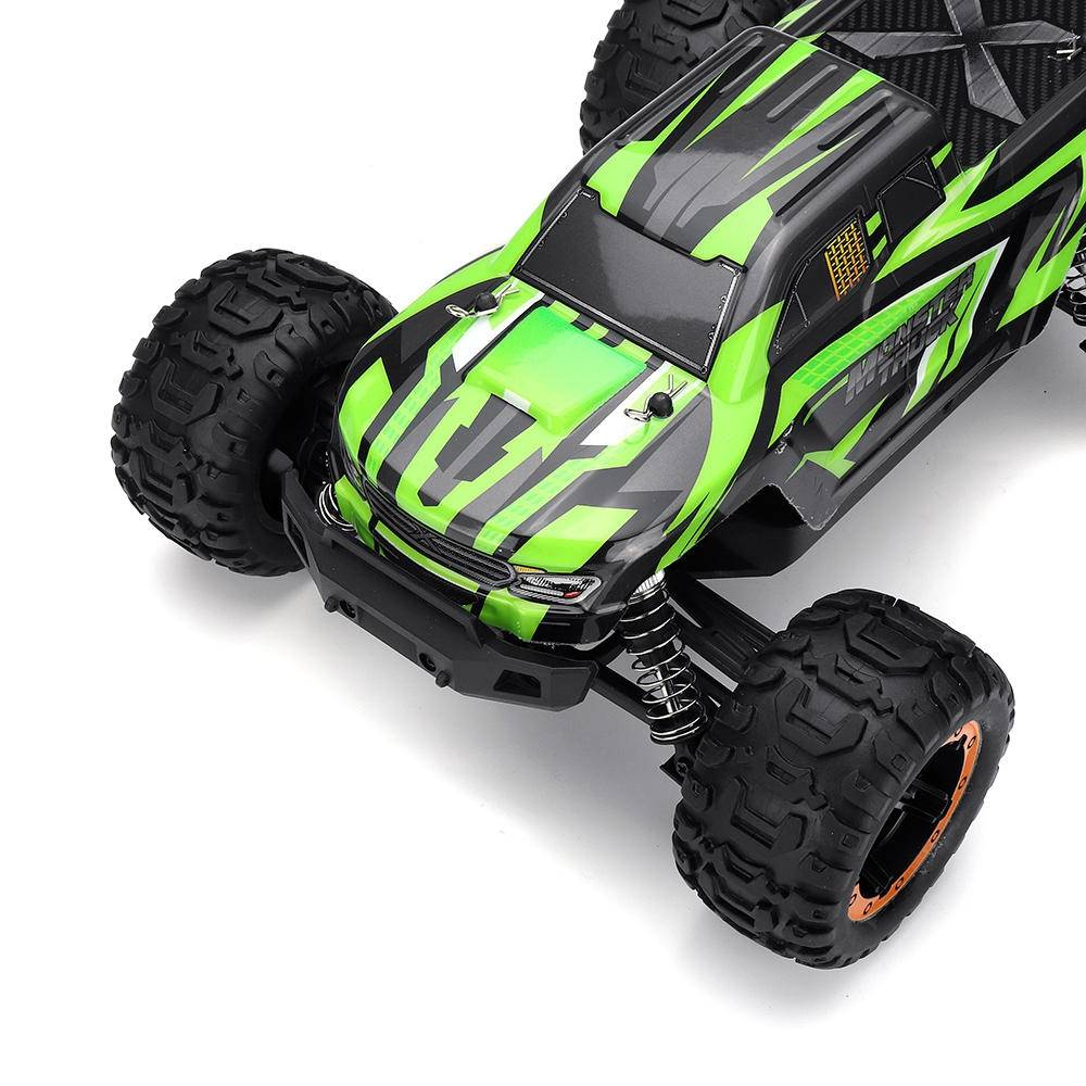 SG 1601 1/16 2.4G 4WD Brushless Off-road Monter Truck RC Car Vehicle RTR - Green