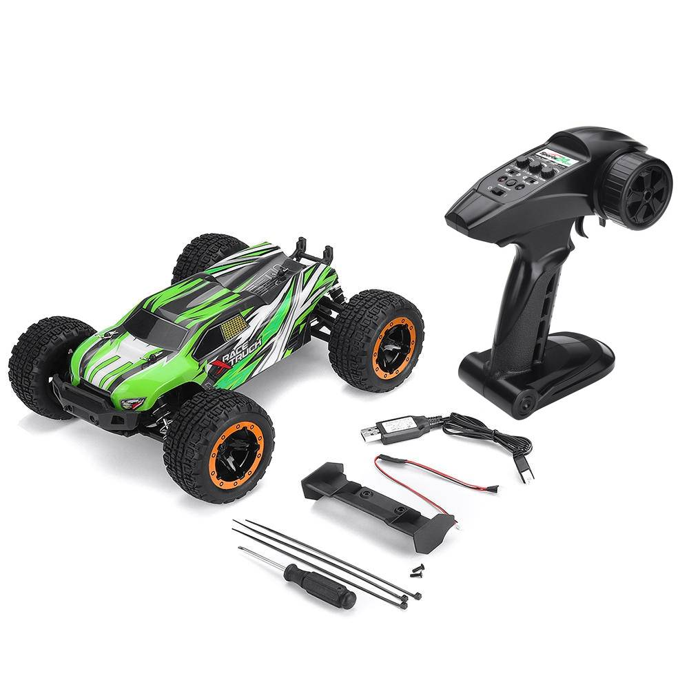 SG 1602 1/16 2.4G 4WD Brushless 45km/h Off-road Monster Truck RC Car Vehicle RTR - Green