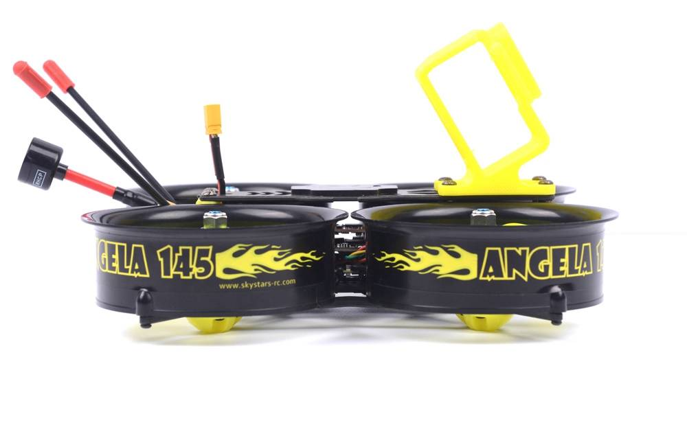 Skystars Angela 145 145mm 3 Inch 3-4S FPV Whoop Racing Drone With MINI F4 35A 500mW VTX Caddx Ratel Cam PNP