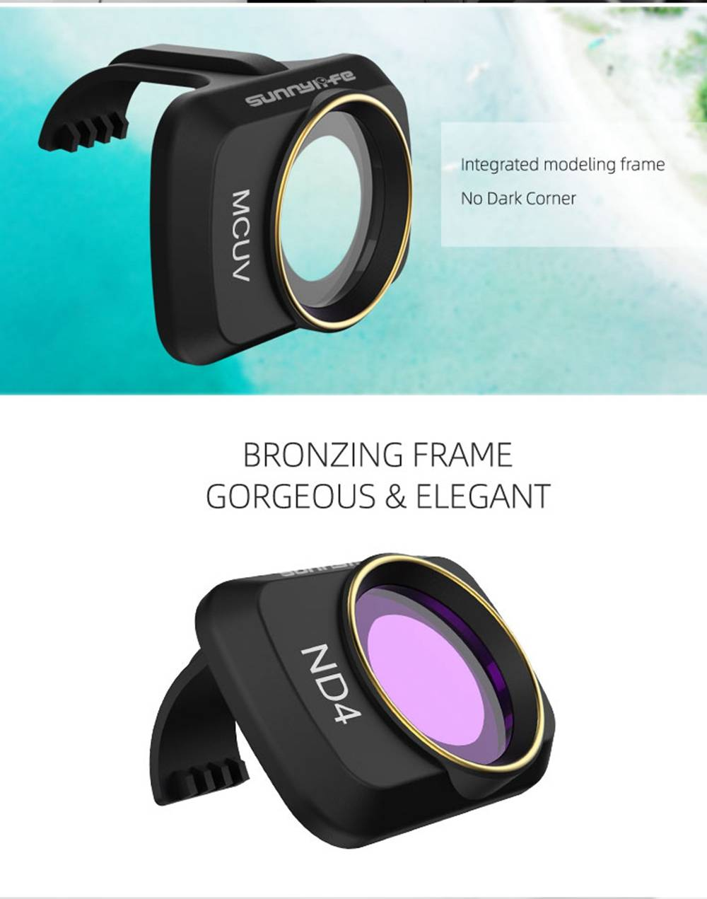 Sunnylife RC Aircraft Expansion Spare Parts ND4/PL/ND8/PL/ND16/PL/ND32/PL Camera Filter Lens Set For DJI Mavic MINI