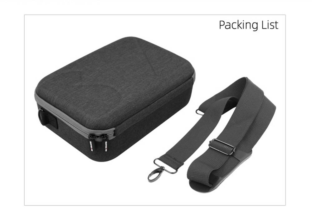 Sunnylife RC Aircraft Drone Expansion Spare Parts Multifunction Portable Shoulder Bag For DJI Mavic MINI - Gray