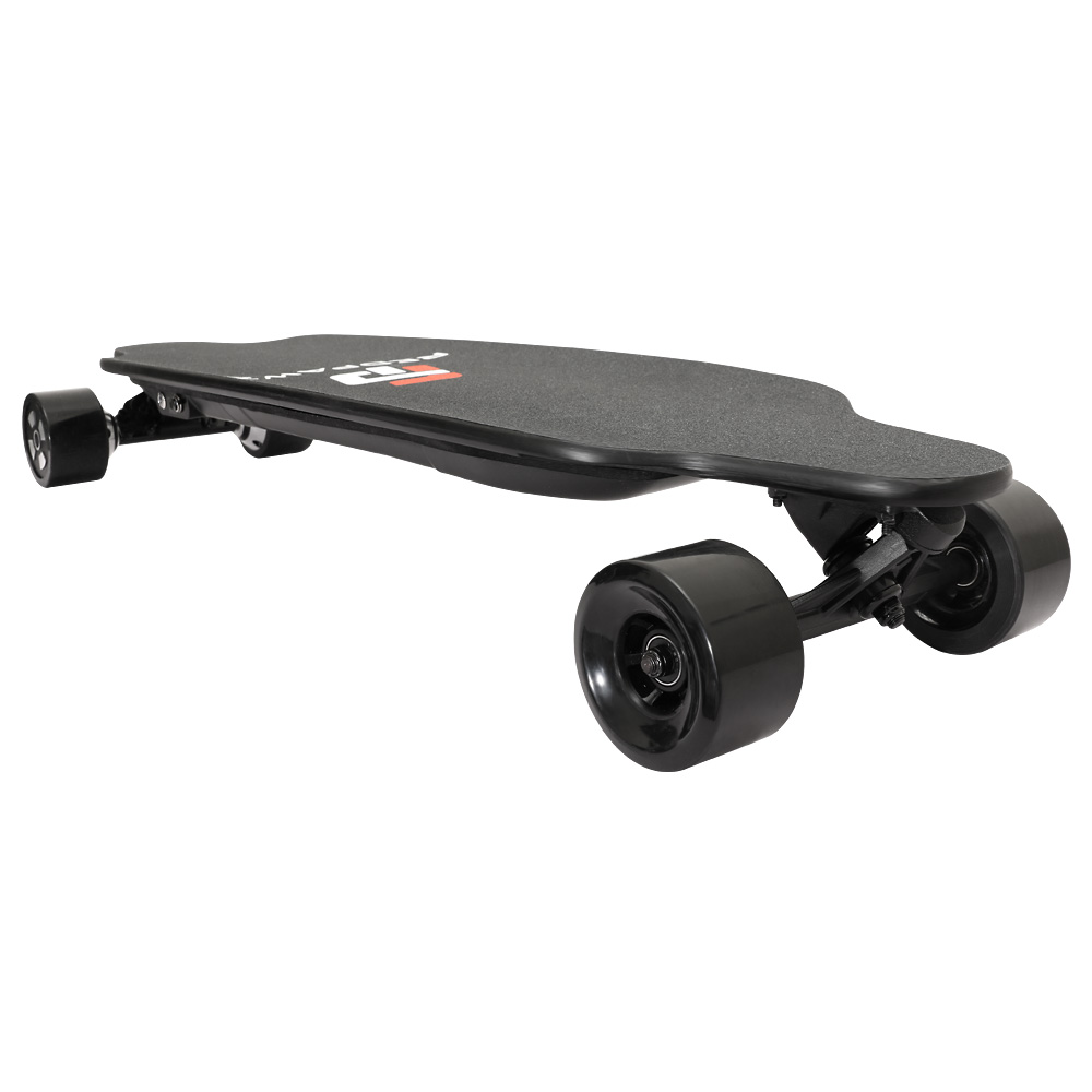 SYL-07 Electric Skateboard Dual 600W Motors 6600mAh Battery Max Speed 40km/h With Remote Control - Black