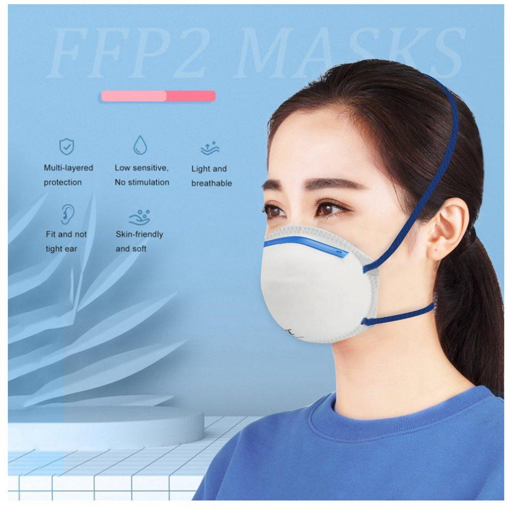 disposable face masks ffp2 with valve