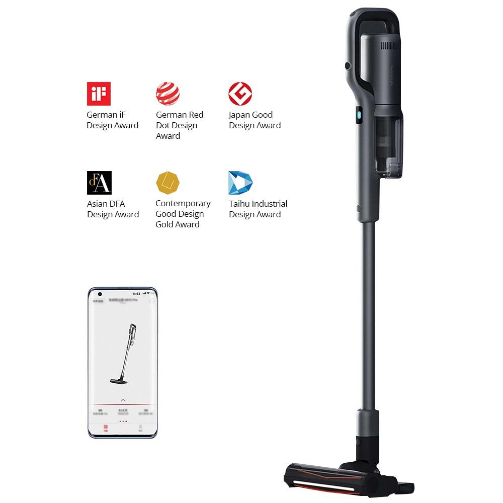 Xiaomi ROIDMI NEX2 NEX 2 Pro OELD Wireless Handheld Vacuum Cleaner 2 in 1 Cleaning and Mopping Pet Brush APP 26500Pa 435W 2500mAh -Grey