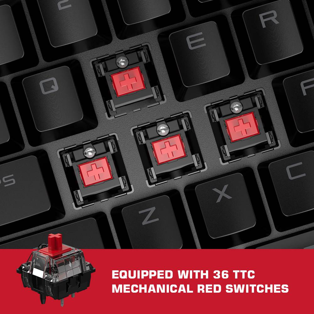 GameSir VX2 AimSwitch Mechanical Keyboard Mouse Converter Set For Xbox One PS4 PS3 Switch Windows PC - Black