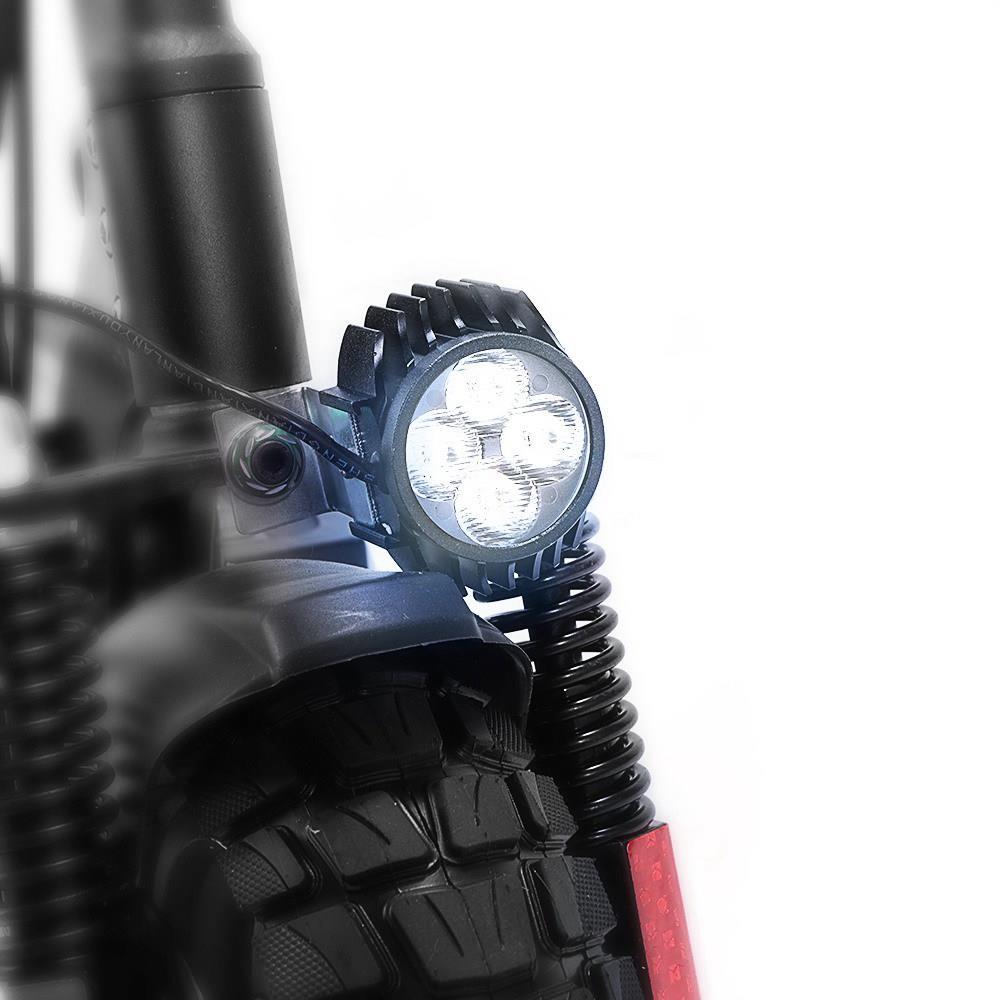 """Scooter électrique pliant KUGOO KIRIN M4 PRO 10 """"Pneu tout-terrain 500W Moteur sans balais 48V 13Ah Batterie 3 modes de vitesse Double frein à disque Vitesse maximale 45KM / h Affichage LED 55KM Longue portée - Noir"""