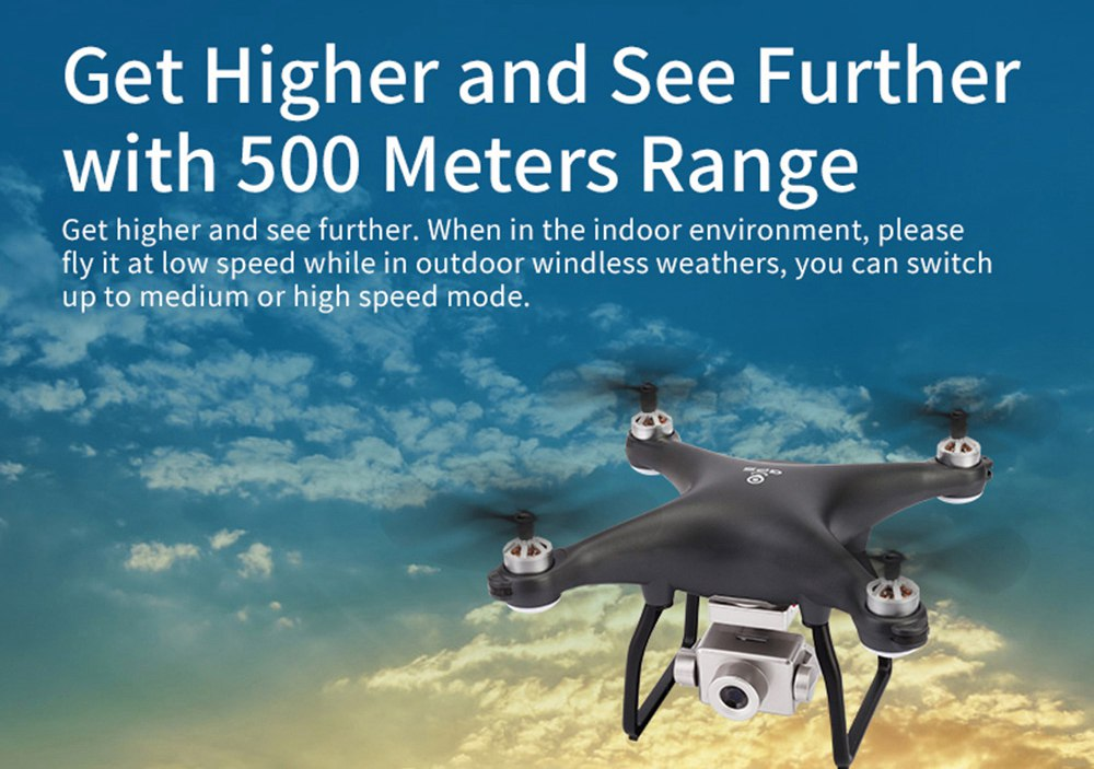 X13 5G WIFI Dual GPS Brushless RC Drone With 4K 120 Degrees Wide-angle ESC Antishake Camera RTF - Three Batteries