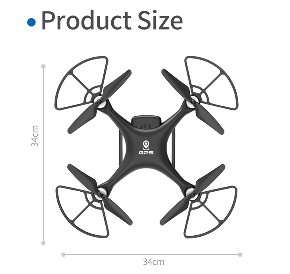 JJRC X13 5G WIFI Dual GPS Brushless RC Drone With 4K 120 Degrees Wide-angle ESC Antishake Camera RTF - Two Batteries
