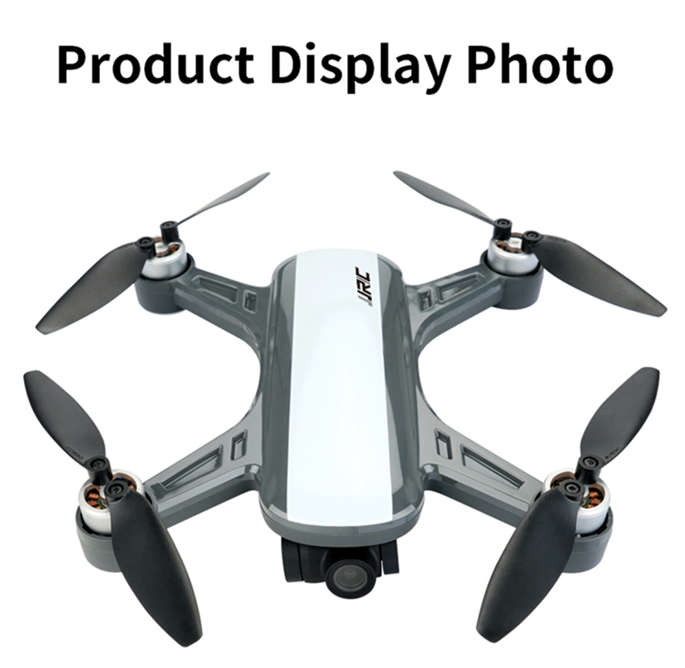 JJRC X9PS 4K 5G WIFI FPV Dual GPS RC Drone With 2-Axis Gimbal RTF - White One Battery