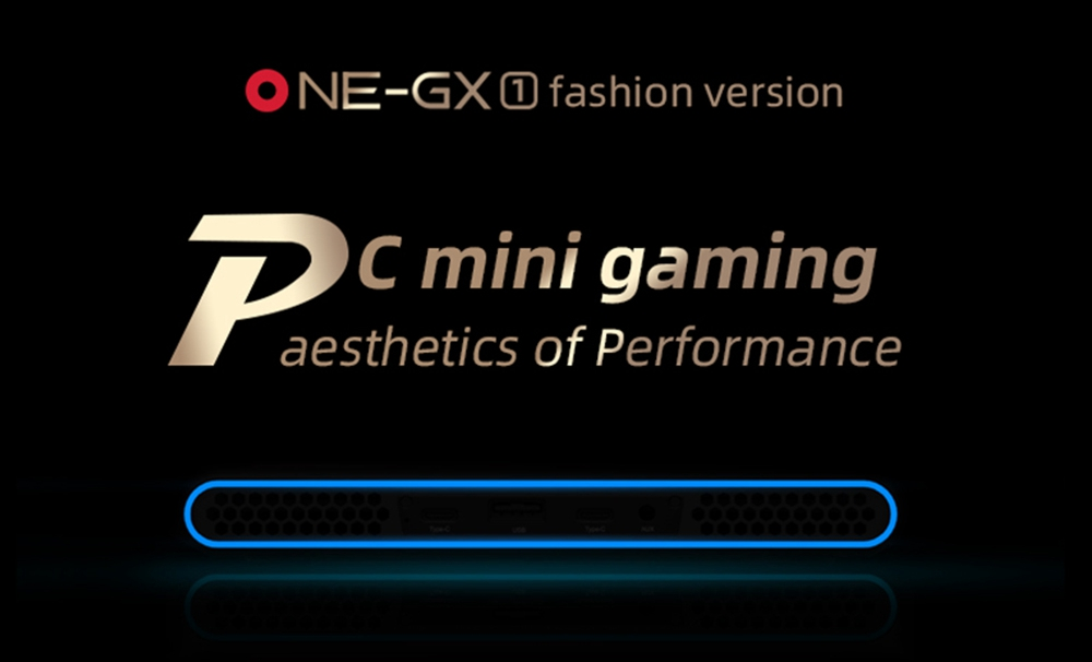 One Netbook OneGx1 Gaming Laptop 7-inch 1920x1200 i5-10210Y 16GB RAM 512GB SSD WiFi 6 Windows 10 5G Version - Blue