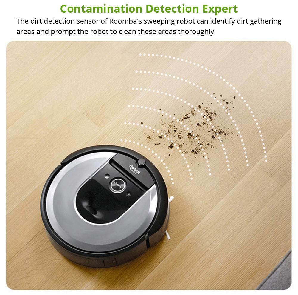iRobot Roomba i7+ (7550) Robot Vacuum With Automatic Dirt Disposal-Empties Itself Wi-Fi Connected Smart Mapping Works With Alexa Ideal for Pet Hair Carpets Hard Floors - Silver
