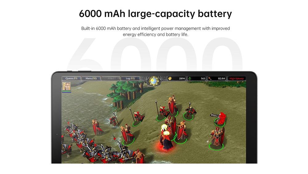 ALLDOCUBE iplay20 4G LTE Tablet PC UNISOC SC9863A Octa Core 10.1 Inch 1920 x 1200 IPS Screen Android 9.0 4GB RAM 64GB ROM Двойная камера 6000mAh Аккумулятор - черный