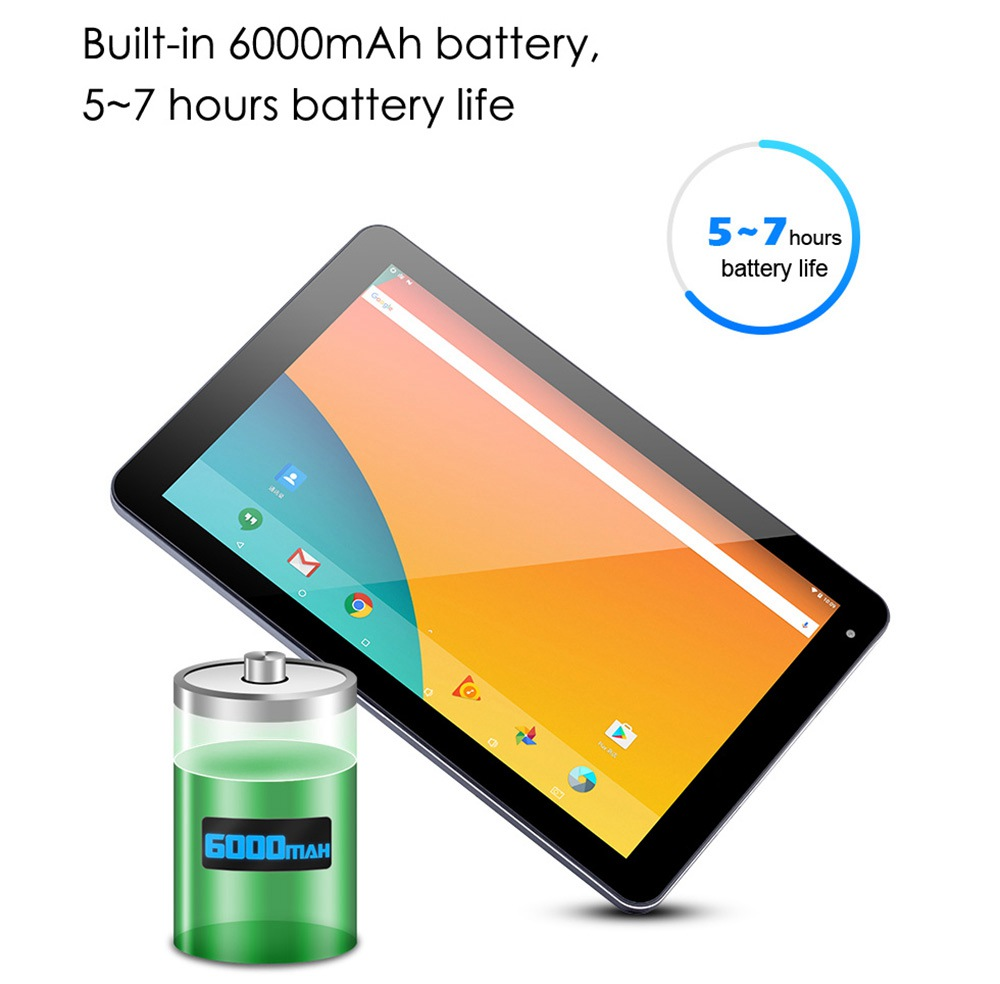 PIPO N2 4G LTE Tablet PC UNISOC SC9863A Octa Core 10.1 Inch 1920 x 1200 IPS Screen Android 9.0 4GB RAM 64GB ROM Dual Camera 6000mAh Battery  - Blue