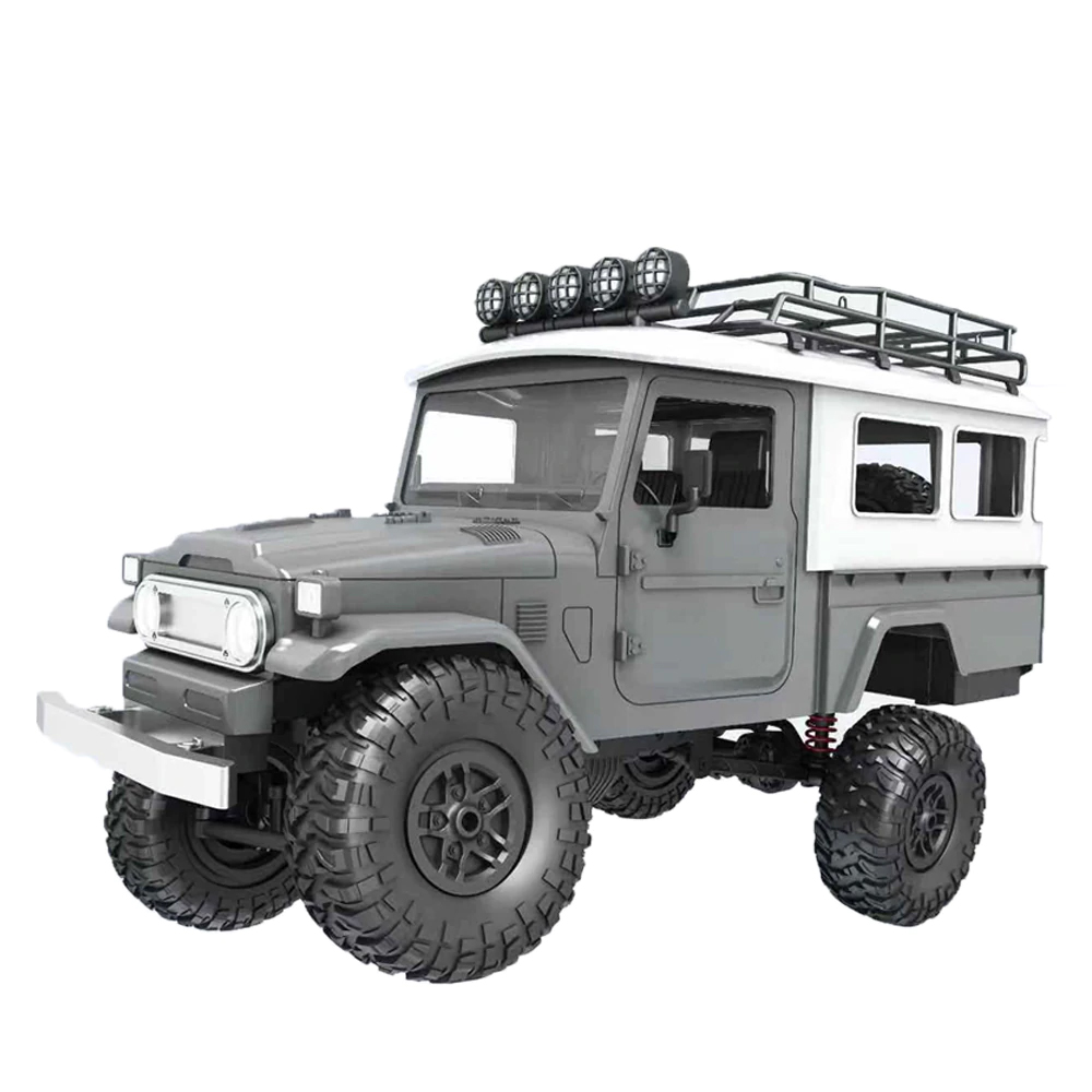 MN Model MN-40 1/12 2.4G 4WD Climbing Off-road Vehicle RC Car RTR - Silver Gray