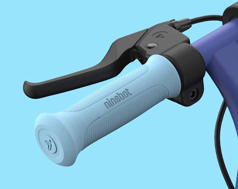 Ninebot Segway E8 Folding Electric Scooter for Kids 130W Motor 14km/h Max Speed 2550mAh/55.08Wh Battery BMS aluminium alloy Frame BMS TPR Handbar up to 10KM Range - Pink
