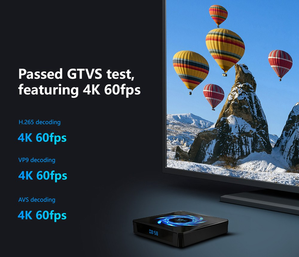 X96Q MAX Android 10 4K@60fps Allwinner H616 4GB/32GB TV BOX 2.4G+5G WIFI Bluetooth 5.0