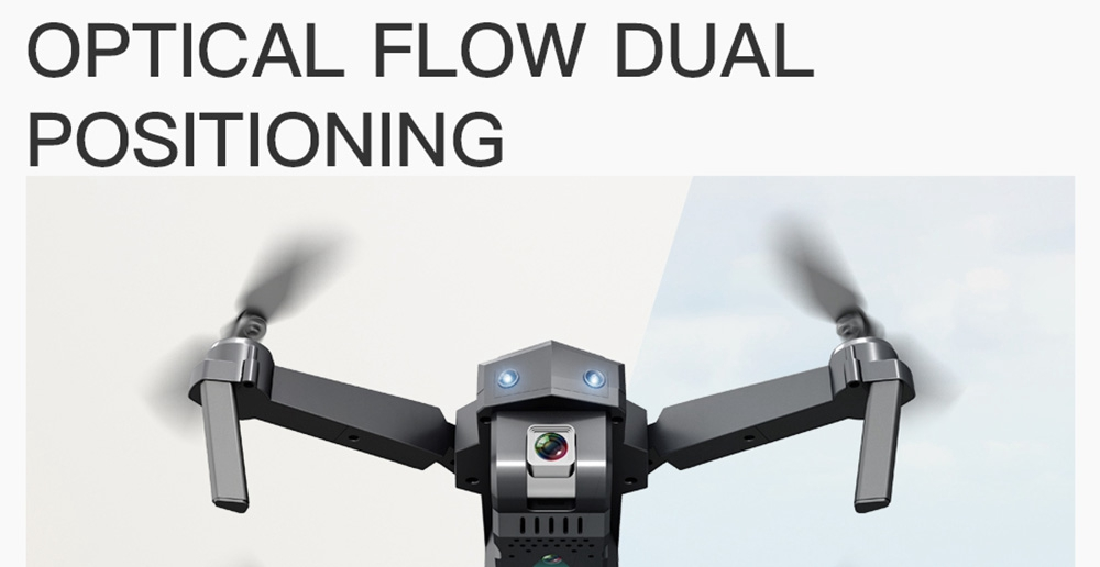 ZLRC SG107 4K Optical Flow Foldable Drone With Switchable Dual Cameras 50X Zoom RC Quadcopter RTF - 4K Optical Flow