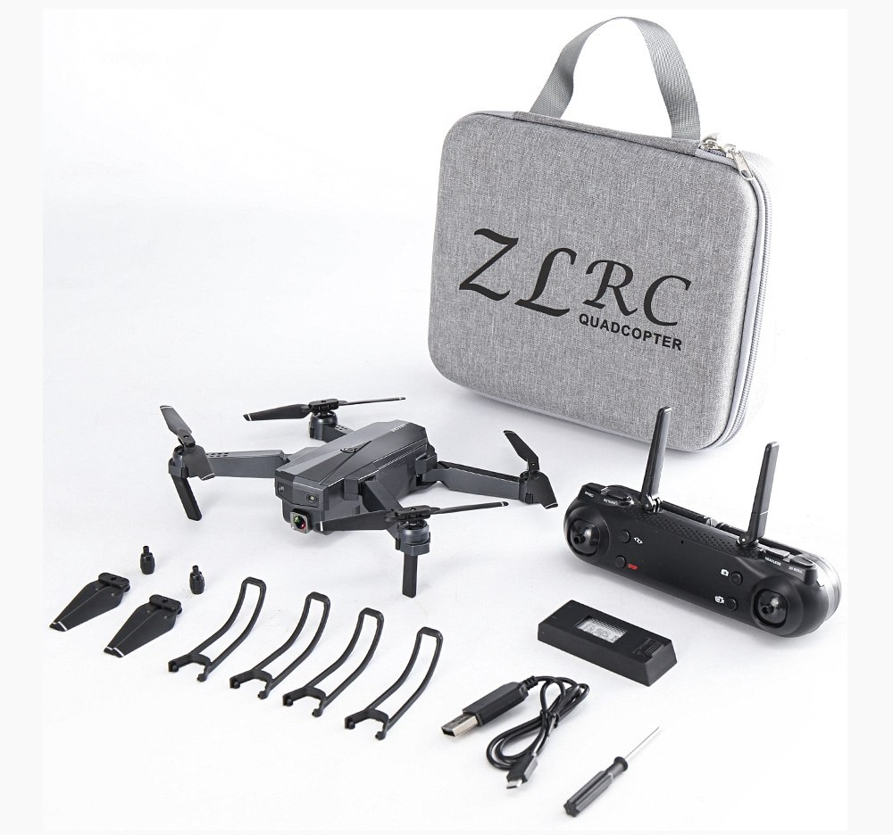 ZLRC SG107 4K WIFI FPV Foldable Drone 50X Zoom RC Quadcopter RTF - 4K WIFI Version