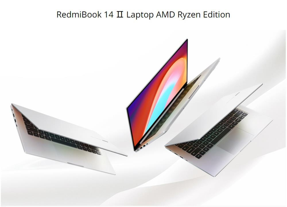 Xiaomi Redmibook 14 II Ryzen Edition Laptop AMD Ryzen7 4700U 14 Inch 1920 x 1080 FHD Screen 16G DDR4 512GB SSD Full Size Keyboard  Windows 10 home  - Silver