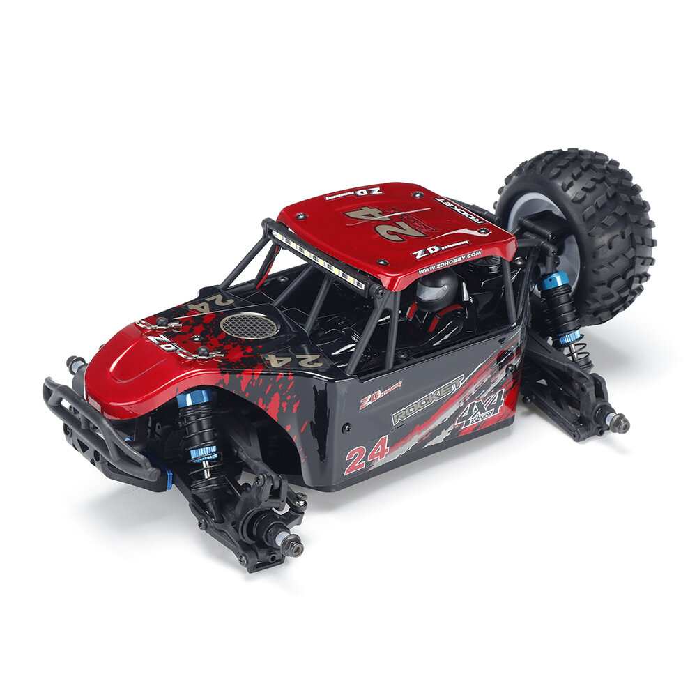 ZD Racing ROCKET DTK16 1:16 Scale 4WD 45KM/H Brushless Desert Truck RC Car - Red