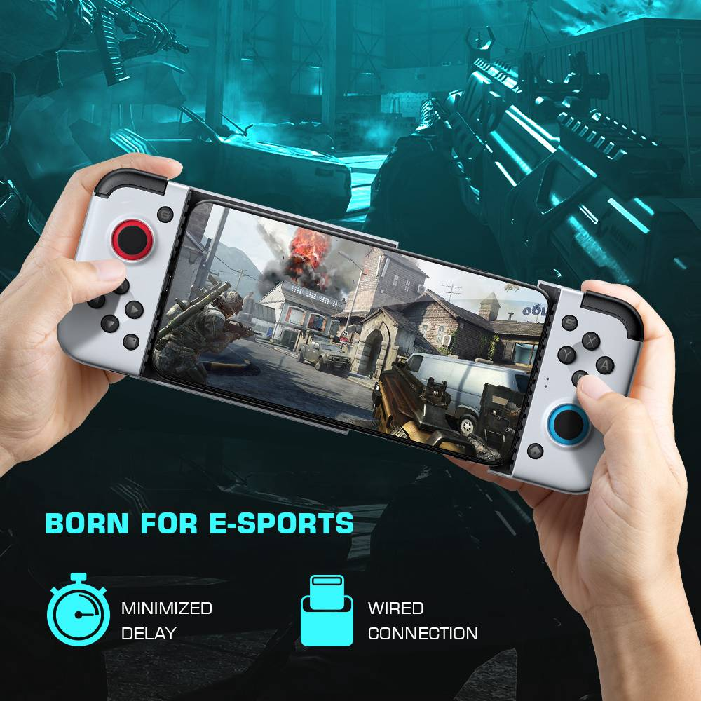 GameSir X2 Type-C Mobile Gaming Controller for Android Retractable Max 167mm  - White