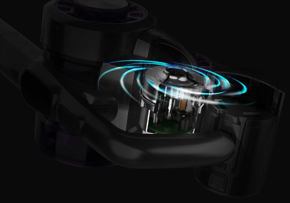 Aspirador de pó portátil sem fio inteligente JIMMY JV85 23000Pa Sucção 500W Motor sem escova 60 minutos Tempo de funcionamento Visor LED Versão global - azul