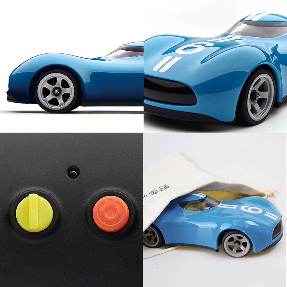 Xiaomi Youpin 2.4G Remote Control ABS Anti-collision 100min Running Time Sports RC Car - Red