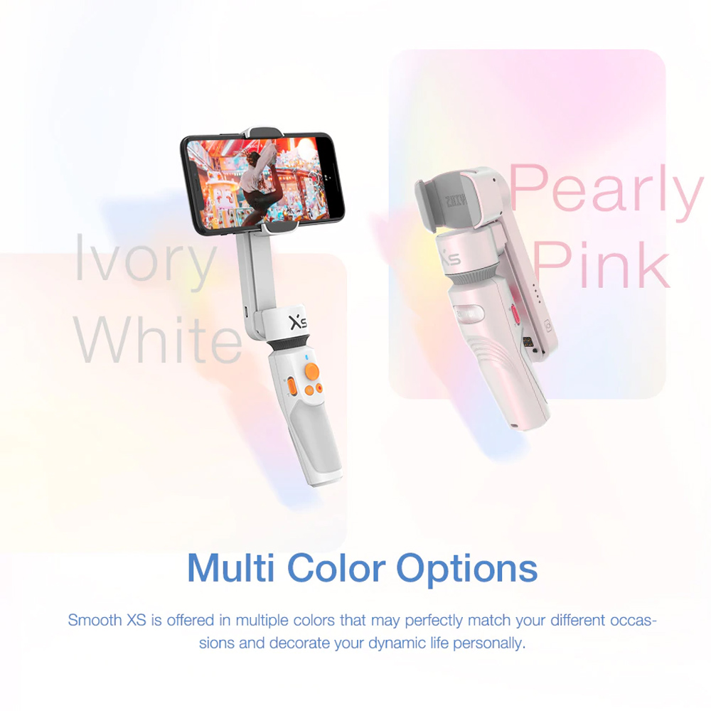 Zhiyun Smooth XS Handheld Gimbal Stabilizer for Smartphone - White