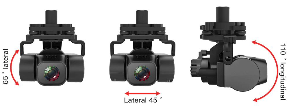 ZLRC SG906 Pro 2 4K GPS 5G WIFI FPV With 3-Axis Gimbal Optical Flow Positioning Brushless RC Drone Black - One Battery with Bag
