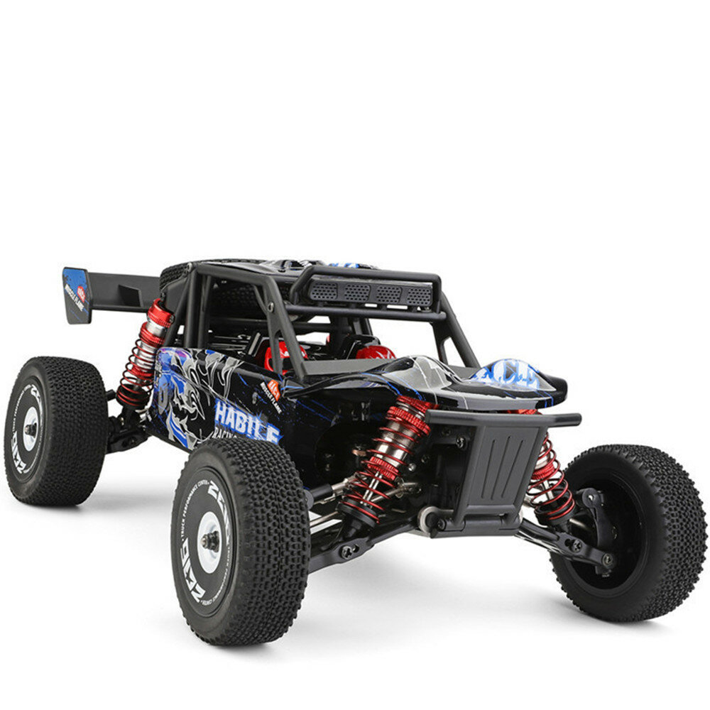 Wltoys 124018 1/12 2.4G 4WD 60km/h Metal Chassis Off-Road RC Car RTR