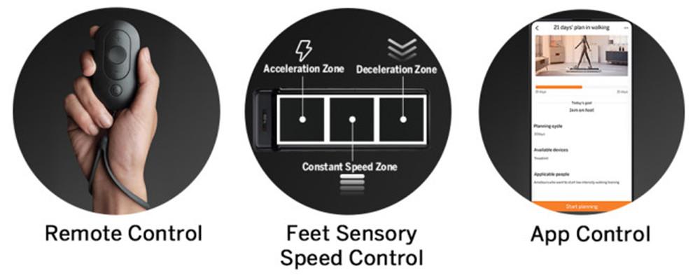 WalkingPad S1 Smart Foldable Walking Pad Treadmill Gym Running Fitness Equipment Intelligent Feet Sensory Speed Control LED Display Low Noise From Xiaomi Youpin - White