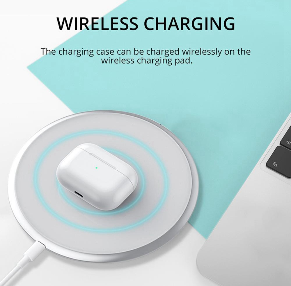 P301 ANC Bluetooth 5.0 TWS Earbuds Touch Control Active Noise Cancelling Wireless Charging Pop Up Pairing Auto Connect Wear Detection