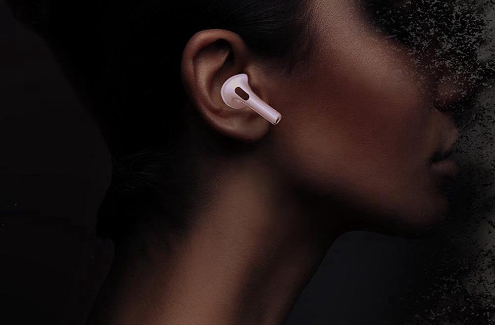 P301 ANC Bluetooth 5.0 TWS Słuchawki douszne Sterowanie dotykowe Aktywna redukcja szumów Ładowanie bezprzewodowe Wyskakujące parowanie Automatyczne połączenie Wykrywanie zużycia