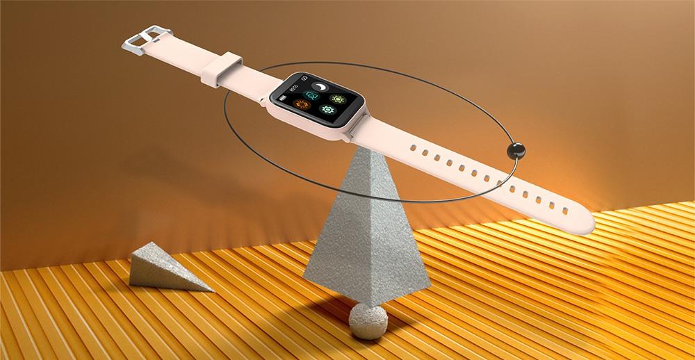"""Blackview R3 Pro Smartwatch 1.54 """"TFT HD Écran rond Surveillance de l'oxymétrie de la fréquence cardiaque Moniteur de sommeil 5ATM Sports Application étanche prend en charge plusieurs langues - Vert"""