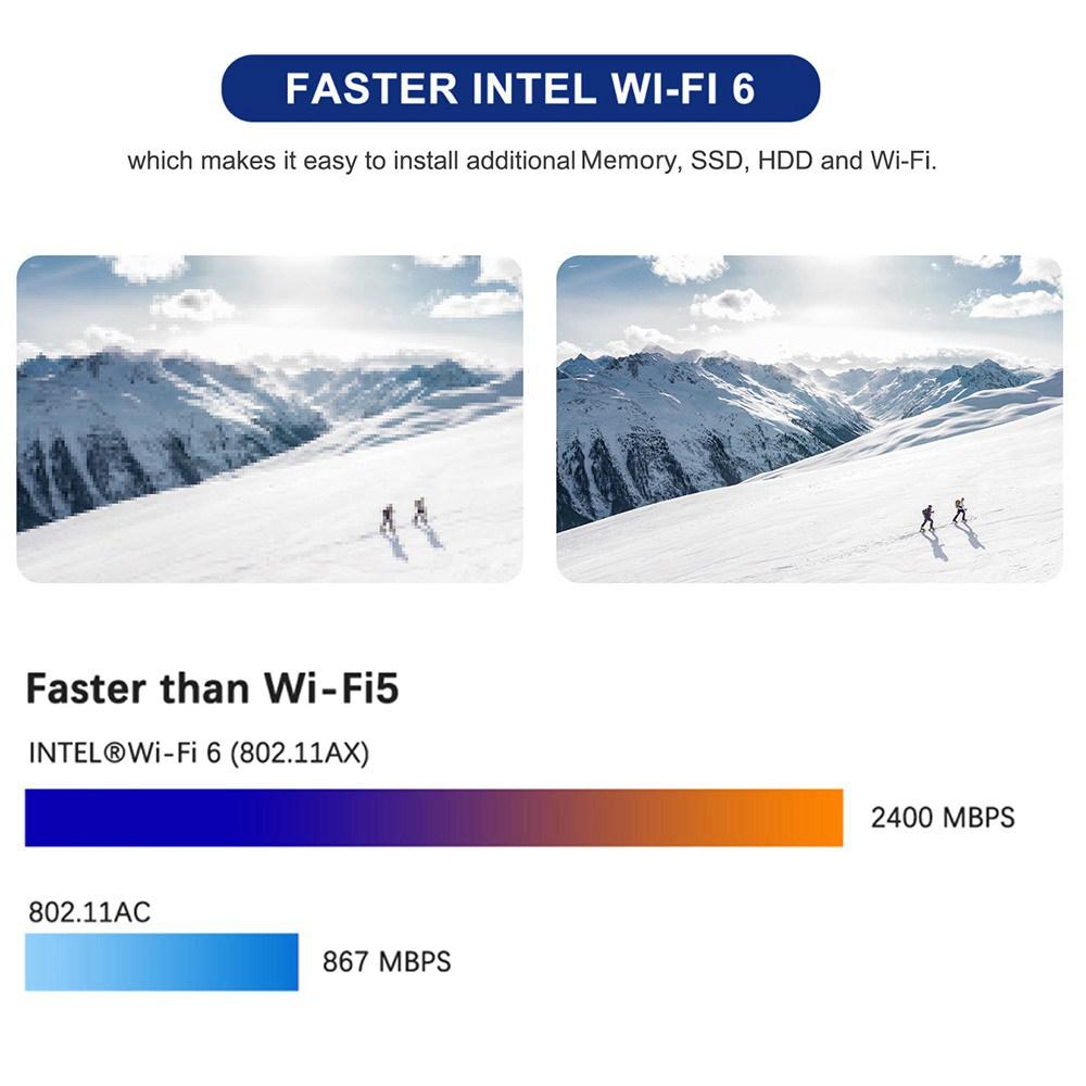MINISFORUM Επιτραπέζιο Mini DMAF5 MINI PC 16GB DDR4 512GB SSD AMD Ryzen5 3550H Quad Core Radeon Vega 5 Graphics HDMI DP RJ45 * 2