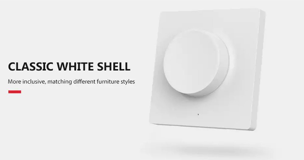 Yeelight Mount Version Smart Dimmer Switch APP Bluetooth Remote Control Adapt to Mijia Ceiling Light - White
