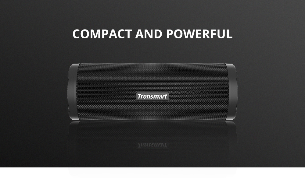 Tronsmart Force 2 Portable Speaker with Qualcomm QCC3021 Chip, Broadcast Mode, 30W Powerful Output, IPX7 Waterproof Speaker, Over 15 Hours of Playtime, Convenient Voice Assistant, Smart APP Control