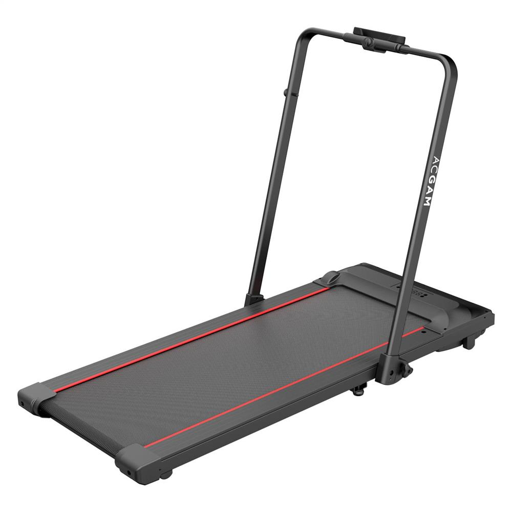 ACGAM T02P Smart Walking Machine 2 in 1 Folding Treadmill for Workout, Fitness Training Gym Equipment, Exercise Indoor & Outdoor with Remote Control, LED Display - EU Version